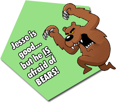 Jesse Nicola is Afraid of Bears