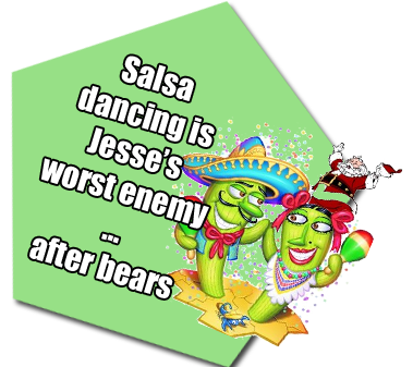 Jesse Nicola cannot Salsa Dance